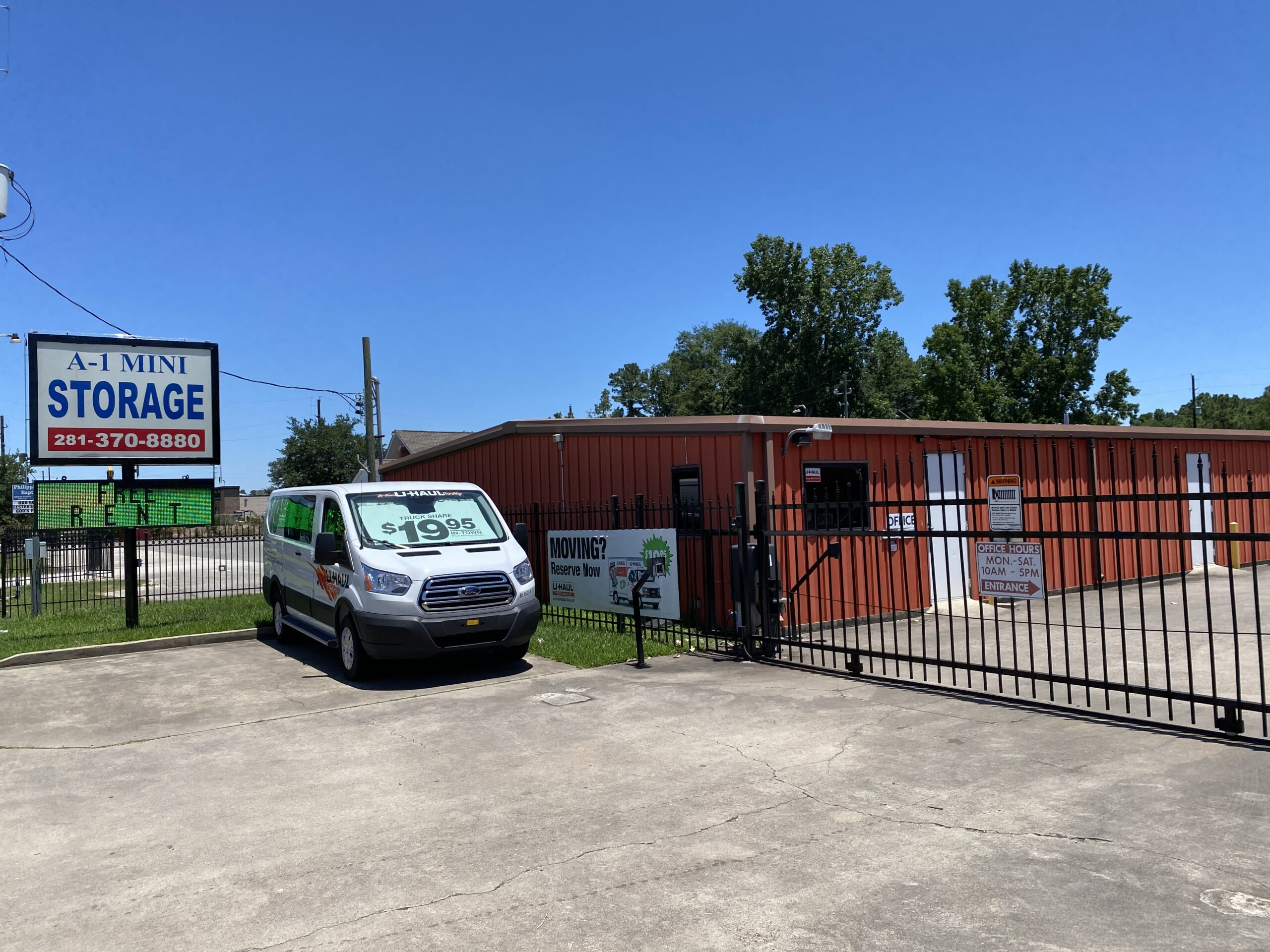 Self Storage Facility for Sale in Spring, Texas by Karr Self Storage