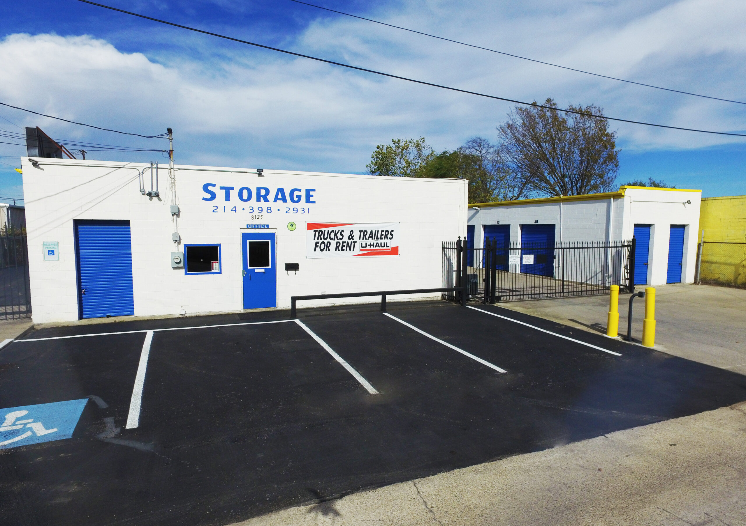 Absolute Self Storage Facility for Sale in Dallas