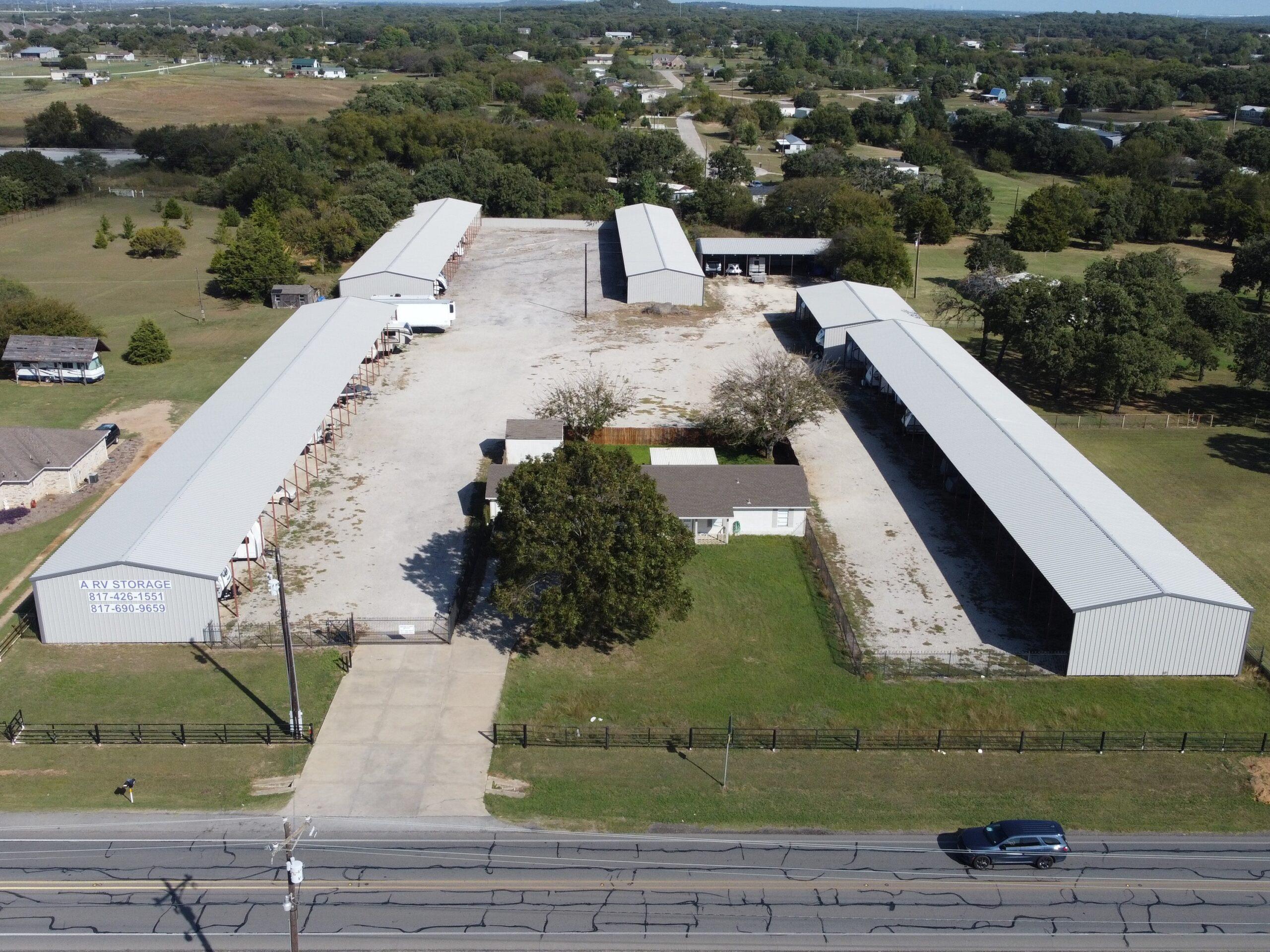 A RV Storage - Self Storage Facility For Sale in Texas by The Karr Self Storage Team